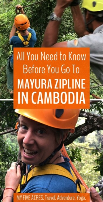 If you're up for a little eco-adventure in Mondulkiri Cambodia, you'll find it at Mayura Zipline. Fly through the tree tops and see the famous Bousra Waterfall from above! Here's everything you need to know before you go.