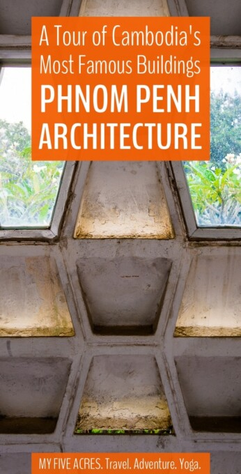 Architecture fans won't want to miss the Phnom Penh tours run by the team at Khmer Architecture Tours. This post will show you exactly what you can expect from the 1960s New Khmer Architecture Tour.