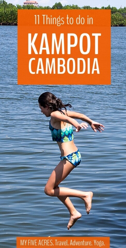 Kampot, a quiet riverside town near the south coast of Cambodia is one of our favourite places in the world. Here's your guide to our favourite things to do in Kampot, Cambodia. #cambodia #kampot #southeastasia