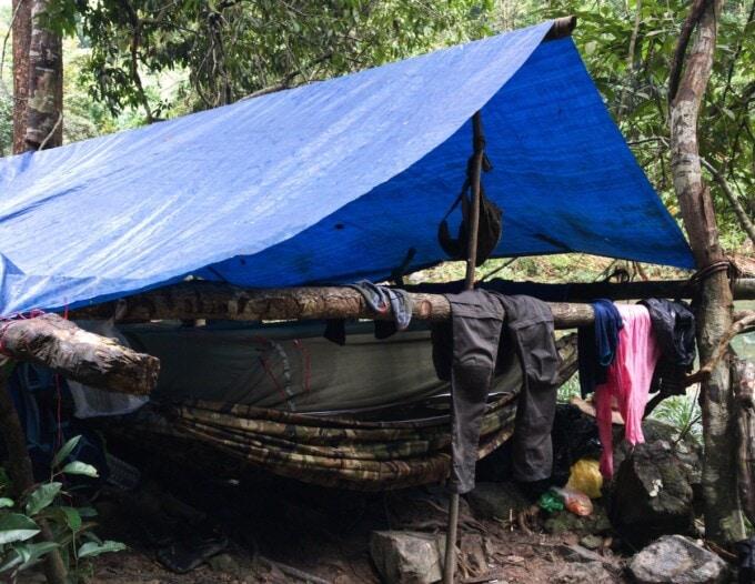 trekking in cambodia