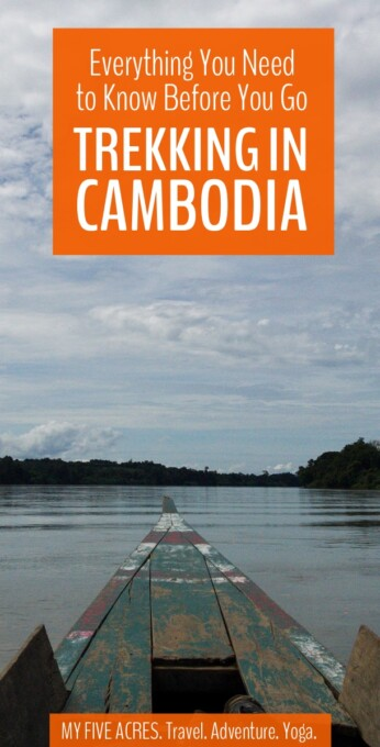 We highly recommend jungle trekking in Cambodia! Here's everything you need to know, including where to go, what to pack, and how to make the most of hiking in Cambodia.