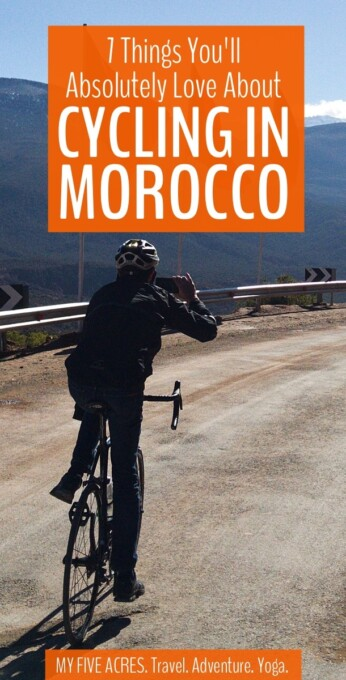 For those who want to get away from the busy cities and tourist towns, we highly recommend cycling in Morocco. Read on to find out what you can expect on a Morocco bike tour. #morocco #marrakesh #atlasmountains #cycletouring #biketour #cycling #adventure #travel
