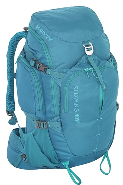 turquoise kelty redwing minimalist backpack for women
