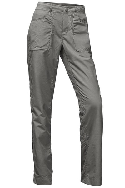 minimalist packing women's lightweight travel trousers
