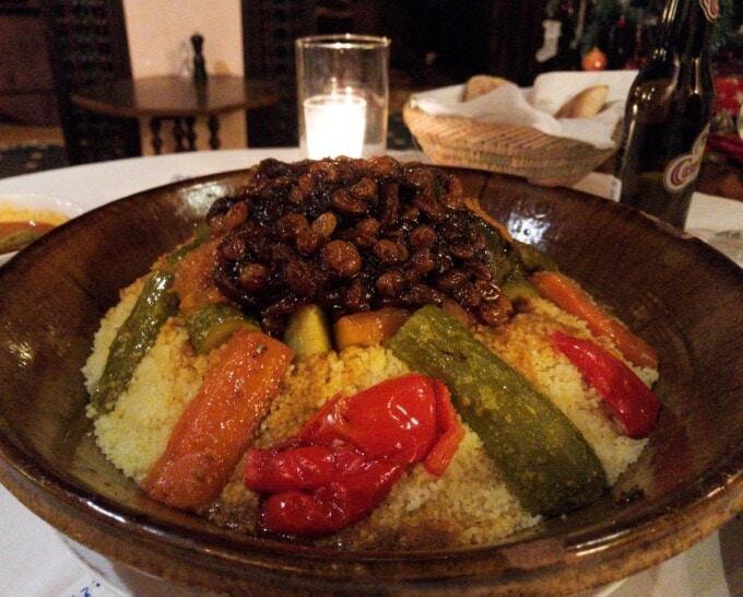 huge vegetarian tagine morocco