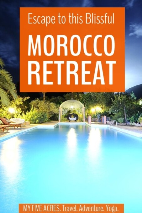 This remote resort about an hour from Marrakech makes a perfect mindful retreat from the bustling streets of the city. If you want a romantic escape or a weekend spa break, this Morocco retreat set in the spectacular Ouirgane Valley is ideal.