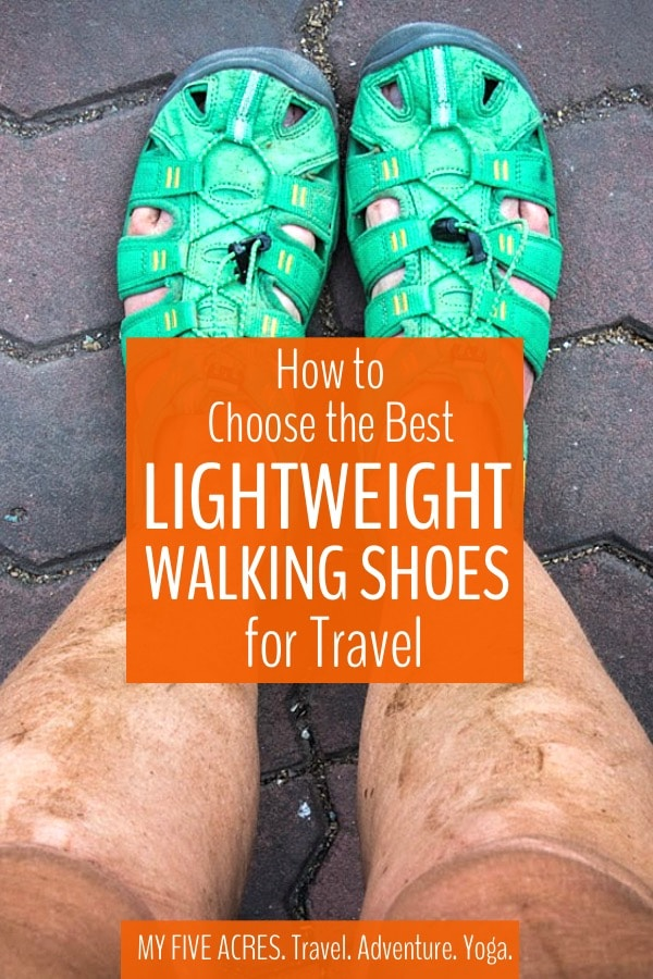 Have you been searching for the best lightweight walking shoes for travel? During our 20 years of travel, we've tested and rejected dozens of pairs of shoes. In this guide, we share our best tips for choosing travel shoes and reveal the shoes we recommend for you. #traveltips #travelgear #shoes