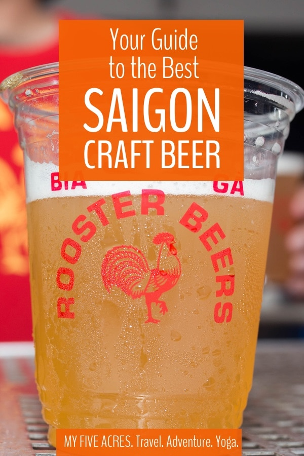 In a few short years, craft beer in Saigon has gone from zero to amazing! We've been to the breweries, haunted the tap rooms, and hung out with the brewers, all to help you find the very best Vietnamese beer. #vietnam #beer #travel