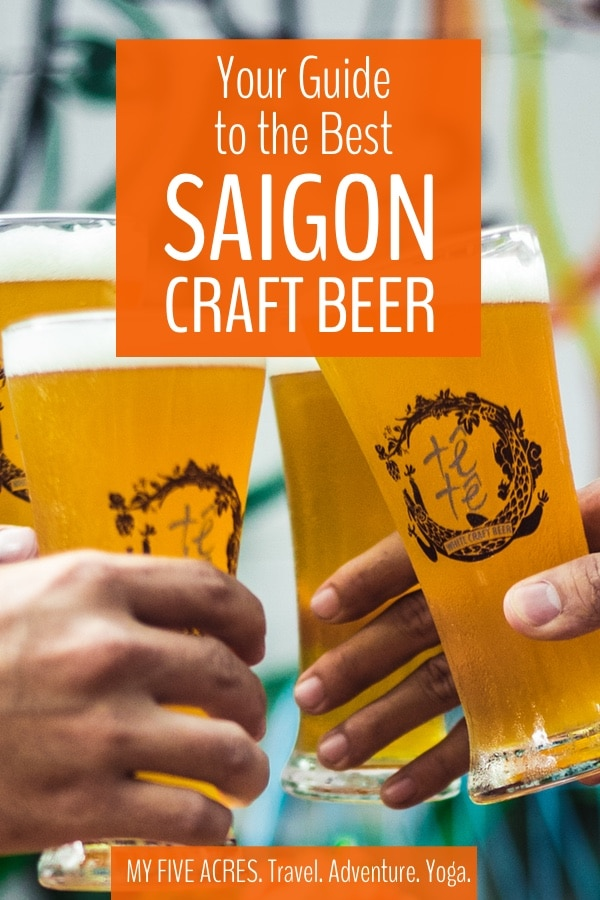 Your Guide to the Best Craft Beer in Saigon