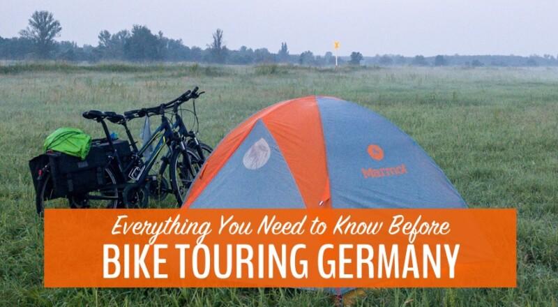 bike touring germany