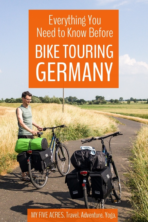 If you're thinking of bike touring Germany, we say, great idea! With its well-developed network of bike paths and relatively flat terrain, Germany is the perfect country for your first cycle tour. Read on to find out if cycle touring Germany is right for you. #germany #biketour #travel #adventure #europe