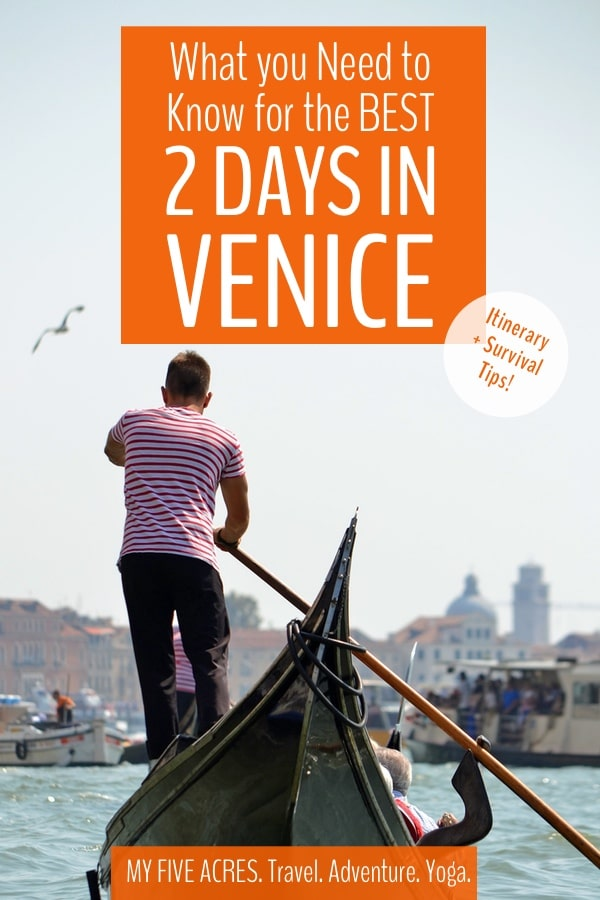 2 days in Venice is just the right amount of time to soak up the atmosphere of the city, see the major sights, and escape before Venice overwhelm sets in. With more than 20 million visitors per year, Venice is crowded with day-trippers and tourist traps. Our survival tips will help  you truly enjoy your short trip to Venice.