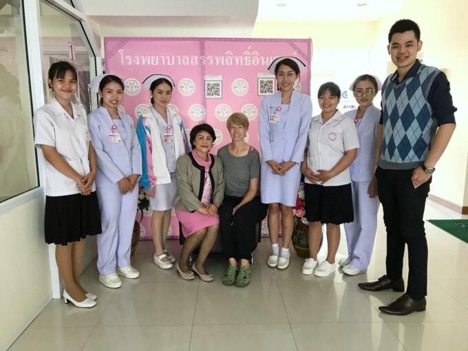malaria hospital thailand