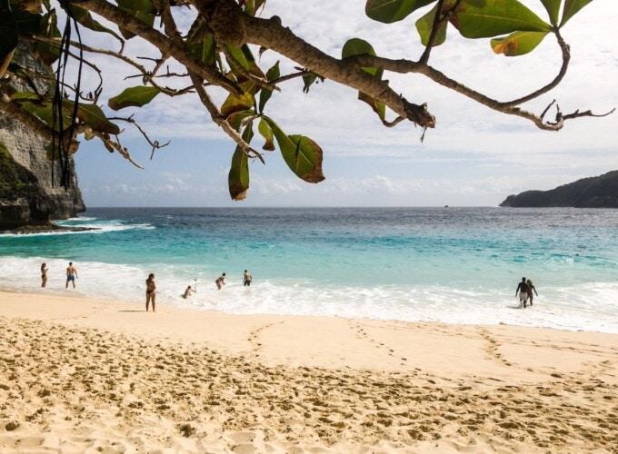 kelingkin beach nusa penida