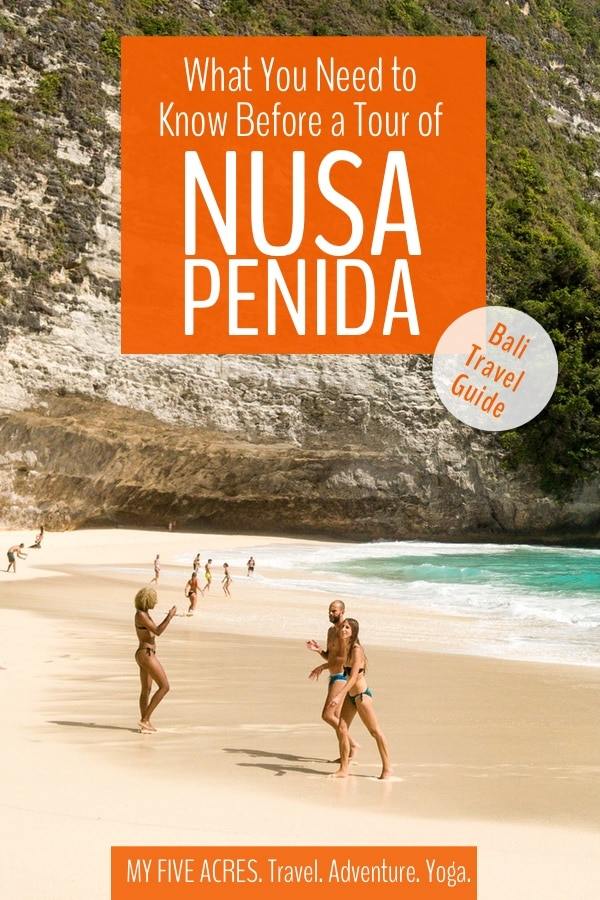 Just 45 minutes from Bali by fast boat, Nusa Penida is a spectacular place to experience beautiful beaches and stunning landscapes. If you're thinking about doing a Nusa Penida tour, this post covers everything you need to know before booking. #bali #indonesia #travel #nusapenida