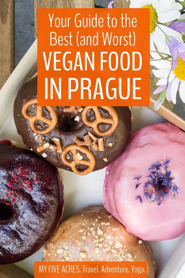 Traditional Czech food is a real meat-fest, so we're thrilled that the vegan scene in Prague is growing so fast. Prague vegan restaurants are still a bit hit-or-miss so though – we've had a lot of bad meals in Prague. Use our guide to avoid the worst and find the best of Prague vegan food. #vegan #vegetarian #prague #travel