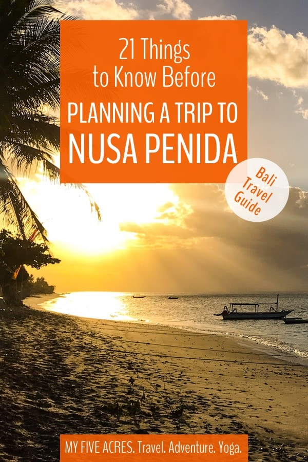 Should you include a trip to Nusa Penida in your Bali itinerary? There are plenty of great reasons to go to this little island — but there are more reasons you might want to avoid it! Is a Nusa Penida trip right for you? Click for the answer! #bali #travel #indonesia