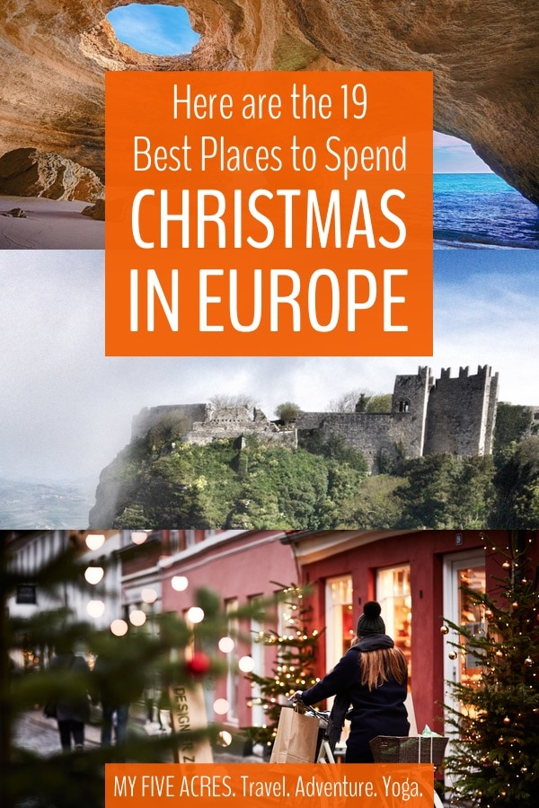If you're in desperate need of a winter escape, or the travel bug just can't wait for summer, then book yourself a ticket to one of the best places to spend Christmas in Europe. #europe #christmas #winter #travel