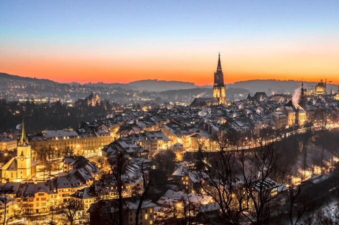 bern switzerland in winter is one of the best places to spend christmas in europe