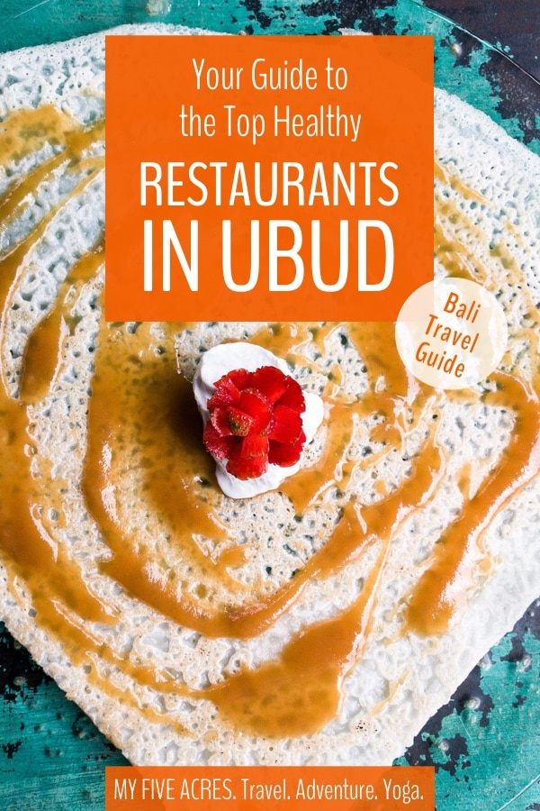 Looking for the best places to eat in Ubud, Bali? This guide will help you find the top restaurants in Ubud for incredible food, great service, and a range of healthy choices. Are you ready to dig in? Then keep reading! #ubud #bali #travel