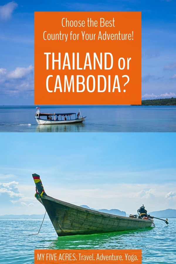 Trying to decide between visiting Thailand or Cambodia? These are two very different countries, but they both deliver incredible experiences to travellers. Keep reading to find out which country should be top of your list for your next adventure. #thailand #cambodia #asia