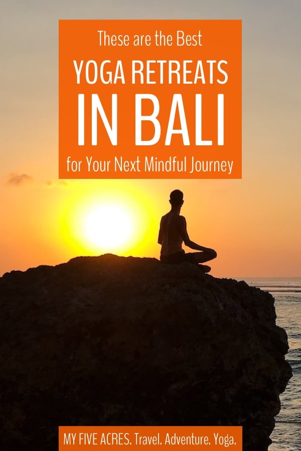 Finding the best yoga retreat in Bali for you can be tough – there are so many choices! We've put together this guide to help you figure out exactly what you want from a retreat and make the choice easy for you. #yoga #travel #bali