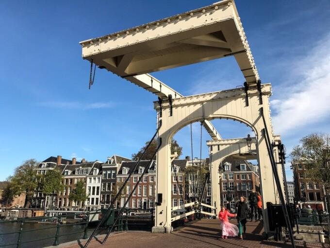 bridge canal amsterdam