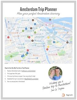 amsterdam trip plan