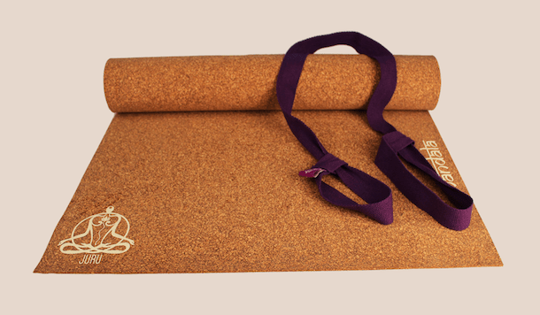 juru eco friendly cork yoga mat