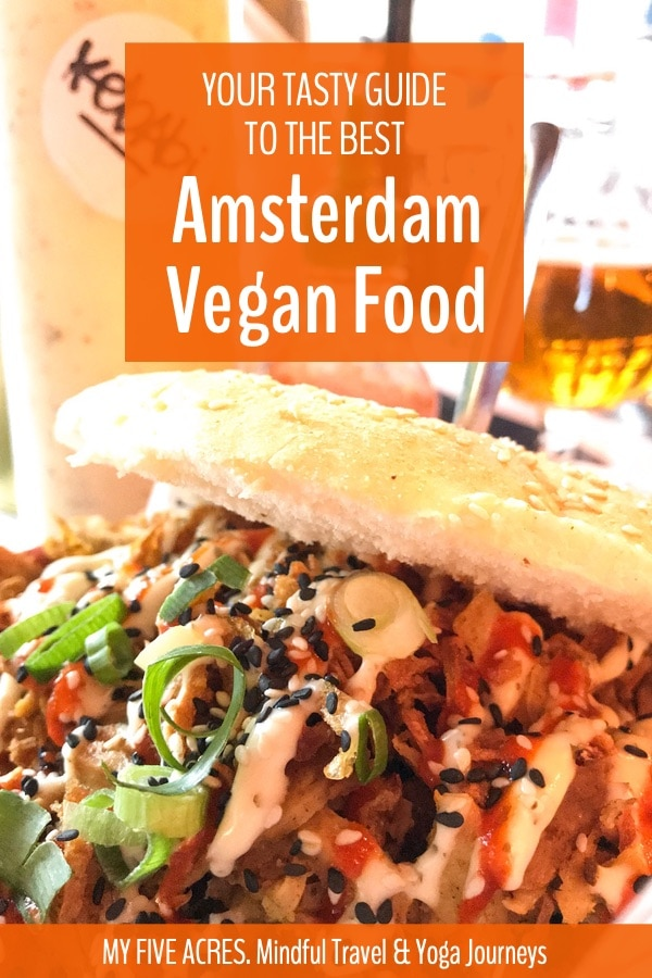 Are you looking for the best Amsterdam vegan food? We recently spent a month in the city, exploring all the animal-friendly foods on offer. Here are our recommendations of where to eat (and what to miss) in vegan Amsterdam. #amsterdam #vegan #travel