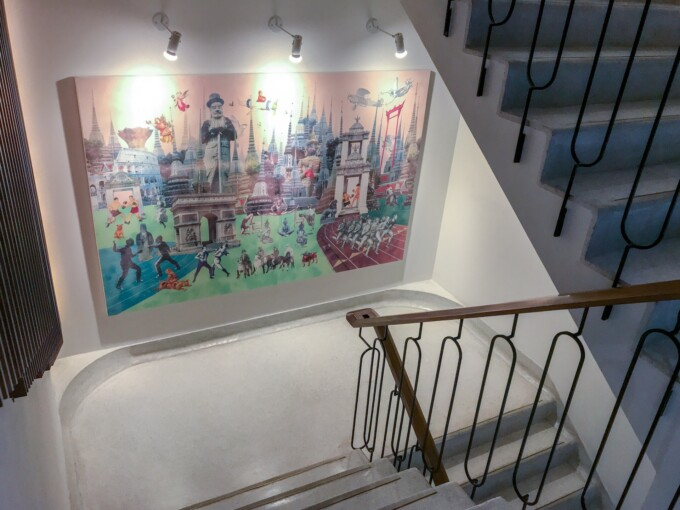 volve hotel stairwell Bangkok