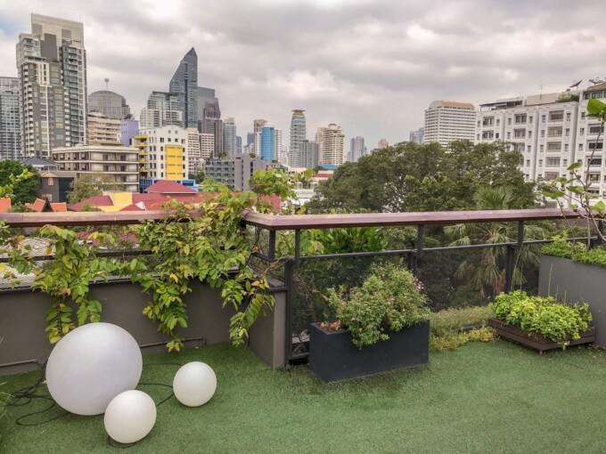roof garden bangkok design hotel