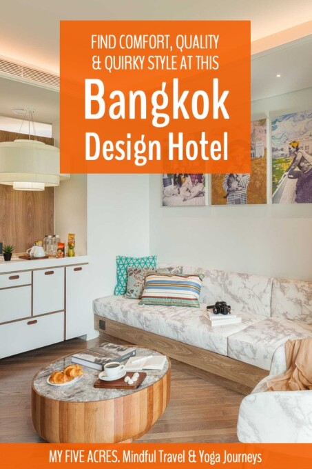 This boutique Bangkok design hotel is a perfect place for couples or solo travellers to recover from a day in the city. If you're looking for a stylish and homey retreat where you'll feel like part of the family, this independently owned hotel in Thong Lor is ideal. #bangkok #hotels #design