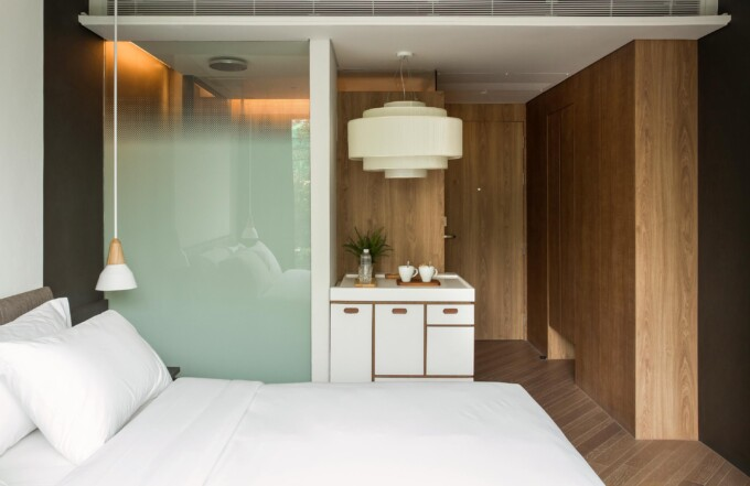 Room at Volve Hotel Bangkok design hotel
