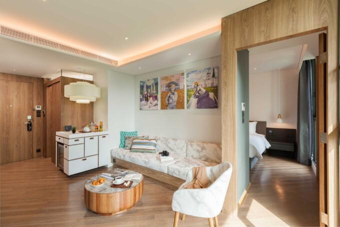 design hotel bangkok two room suite