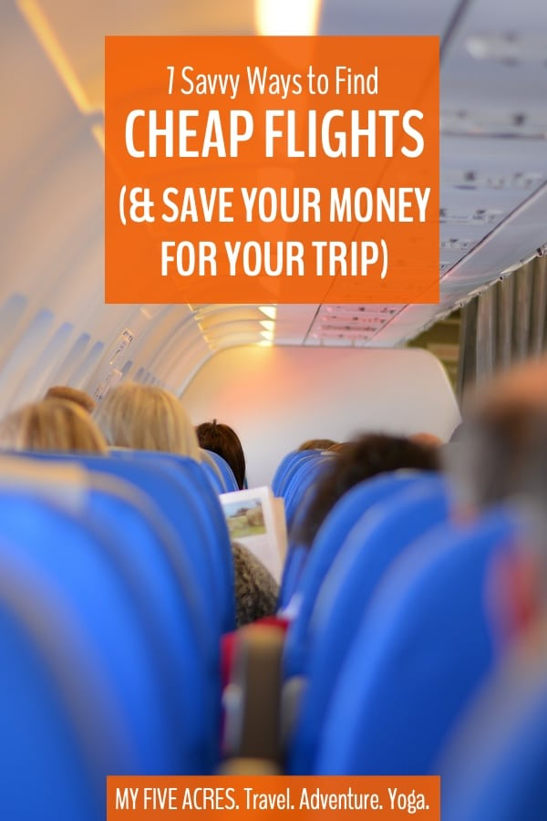 Want to get away but can't find the cash for overpriced flights? Have no fear, our 7 ways to find cheap flights will save you money, so you can spend less on flights and more on fun! #travel #tips #cheapflights