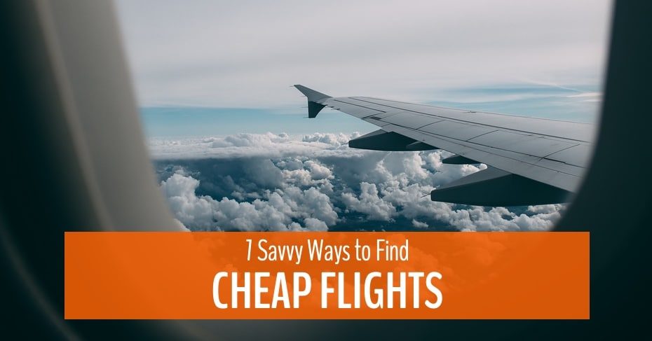 ways to find cheap flights
