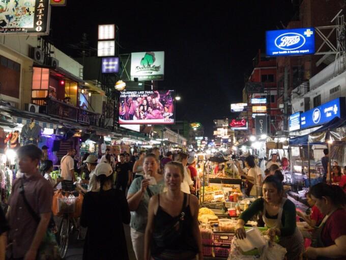 2 days in bangkok khao san road