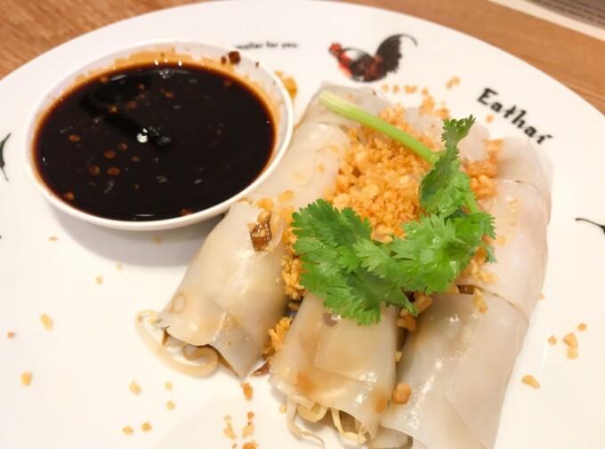 vegan bangkok Eathai noodles