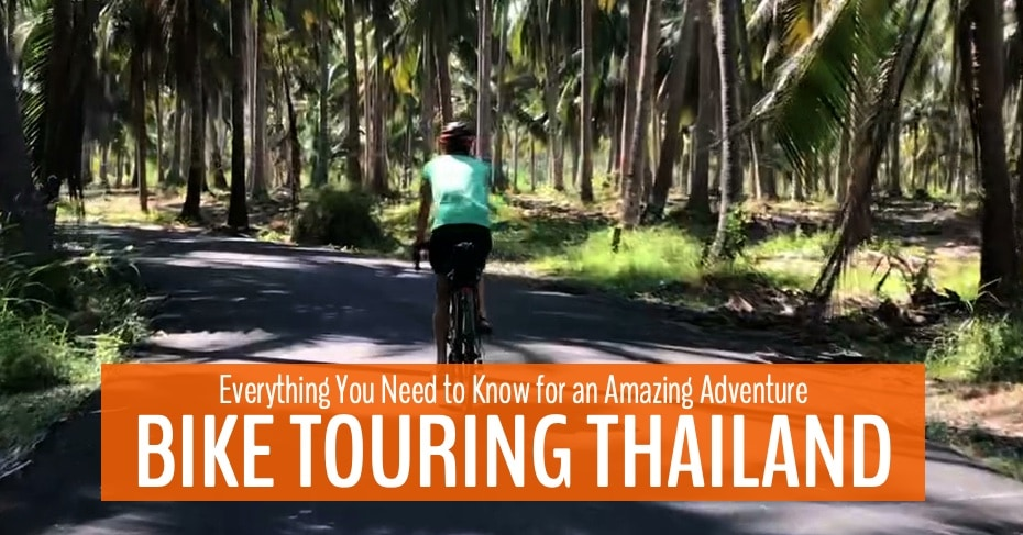 bike touring thailand