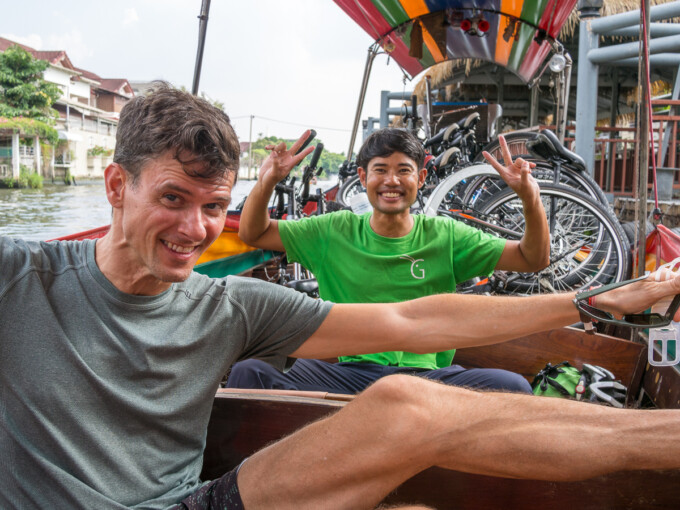 bangkok bike tour canal boat