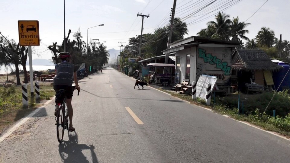 stephen cycling in thailand