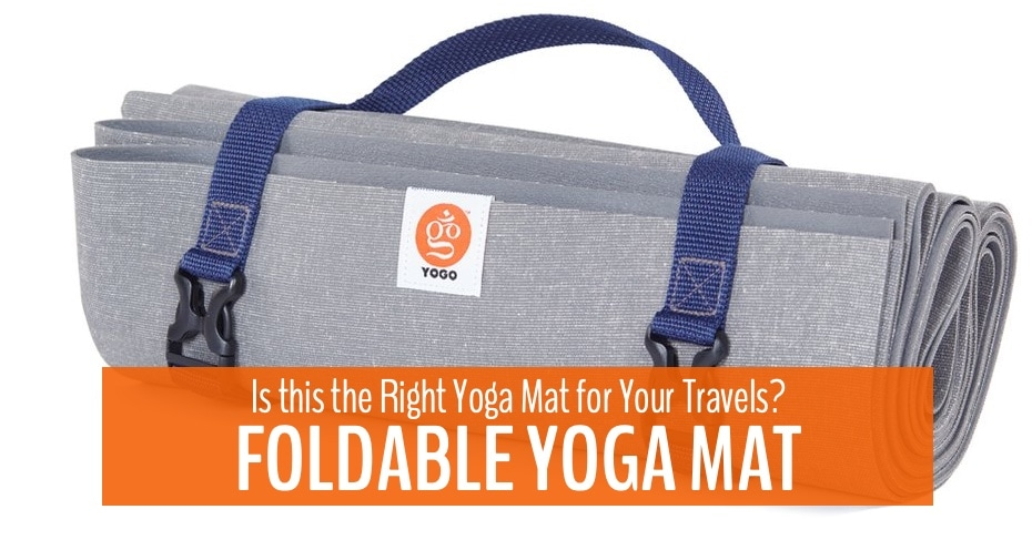 foldable yoga mat review