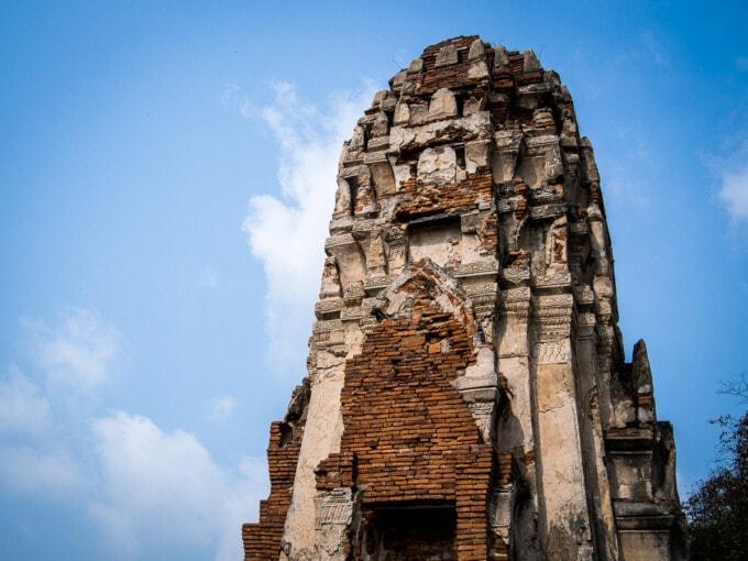 tower ruin Ayutthaya temples