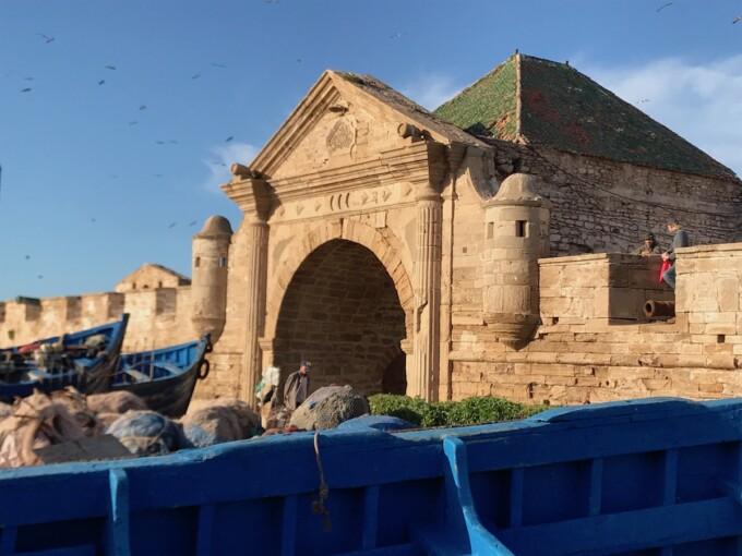 essaouira city gates morrocco