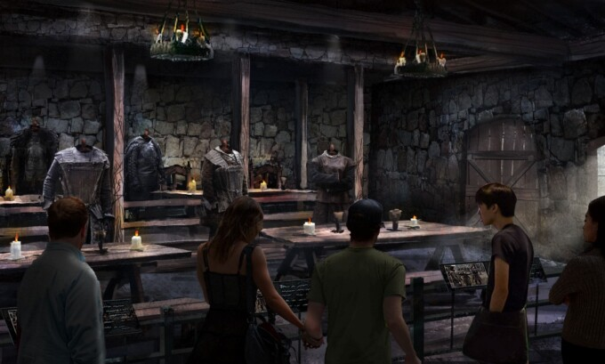 game of thrones vacations mess hall castle black