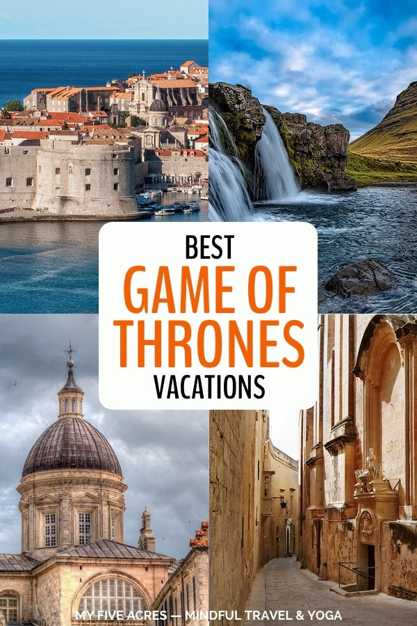 pinterest image game of thrones vacations dubrovnik, malta, icealand