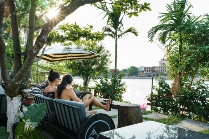hue river side villa vietnam