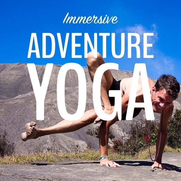 adventure yoga button