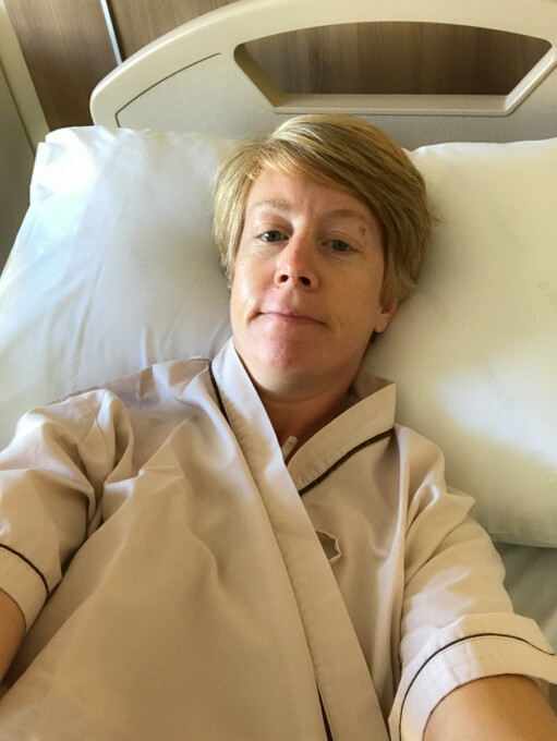 woman in hospital bed thailand after serious travel mistake
